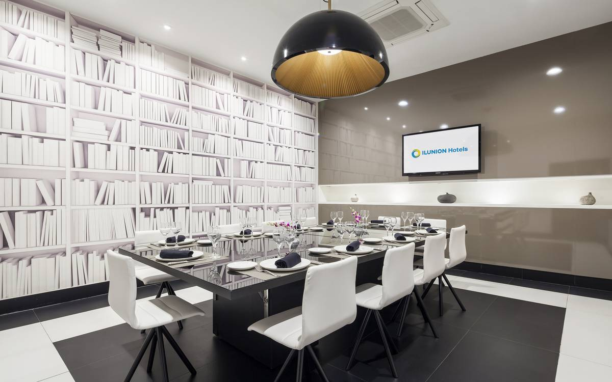 Meeting rooms hotel ilunion suites madrid